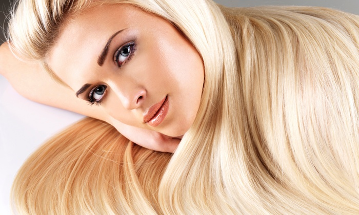 Amorphous Salon & Spa - Lytton Park: One Blowout with Optional Haircut, or Three Blowouts at Amorphous Salon & Spa (50% Off)