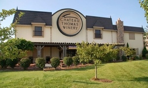 Chateau Thomas Winery: Winery Tasting Package for Two or Four at Chateau Thomas Winery (48% Off)