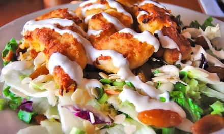 $29 for a Prix-Fixe Meal for Two at Backstreet Grill (Up to a $53.97 Value)