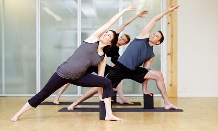 One or Three Months of Unlimited Yoga and Fitness Classes at Source Studio (Up to 52% Off)
