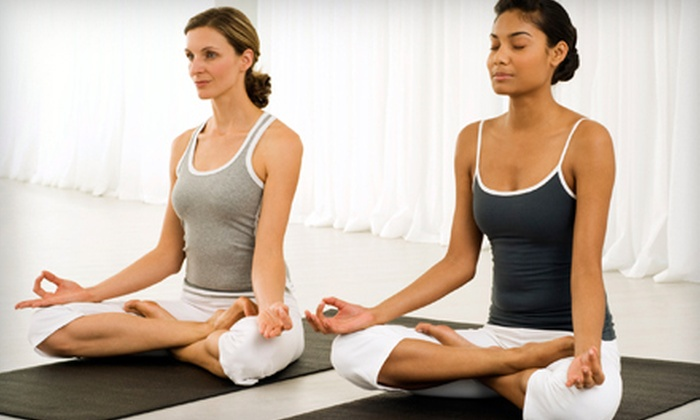 Bedford Yoga Center - Bedford: 2 Private 45-Minute Yoga Classes or 10 Drop-In Classes at Bedford Yoga Center (56% Off)