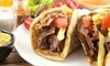 Gyroasis Deli & Grill - Irving: Two or Four Mediterranean Entrees and Large Sodas at Gyroasis Deli & Grill (50% Off)