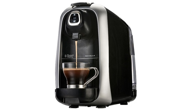 Russell Hobbs Vivace Capsule Coffee Maker And Frother : Discount Cash and Carry Deal of the Day Groupon