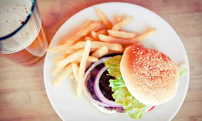 Ferg's Sports Bar and Grill - St. Petersburg: $12 for $25 Worth of Burgers, Pizza, and Drinks at Ferg's Sports Bar and Grill