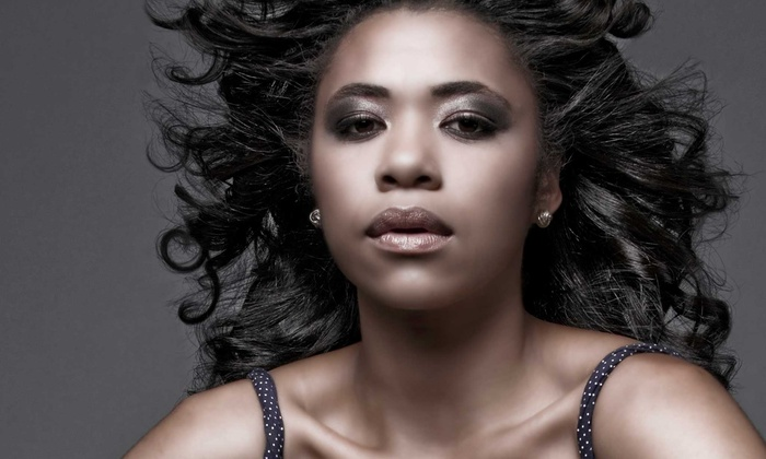 M Styles Hair Studio - Milford Mill: Hair-Styling Services at M Styles Hair Studio (Up to 50% Off). Six Options Available.