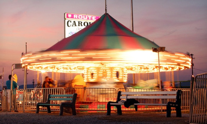 Route 66 Carousel Park - Galena: Unlimited Rides for Two, Four, or Six at Route 66 Carousel Park (Up to 56% Off)