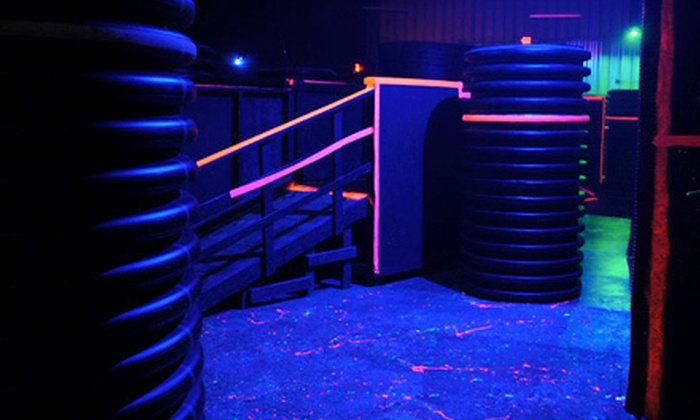 Jaegerz Laser Tag Kansas City - Jaegers Paintball Complex: Three Games of Laser Tag for Four or Six at Jaegerz Laser Tag Kansas City (Up to 68% Off)