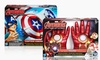 Kid's Avengers Iron Man or Captain America Costume Accessories: Captain America Star Launch Shield