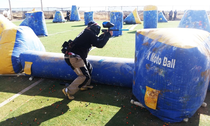 XMotoball - Homestead Meadows North: Paintball Package for Two, Four, or Six with Equipment and Paintballs at XMotoball (Up to 52% Off)