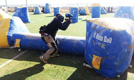 Paintball Package for Two, Four, or Six with Equipment and Paintballs at XMotoball (Up to 52% Off)