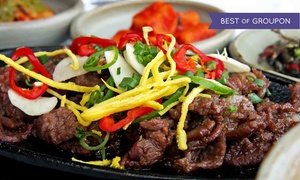 Palace Korean Bar & Grill: Barbecue for Dinner or Lunch at Palace Korean Bar & Grill (Up to 35% Off)