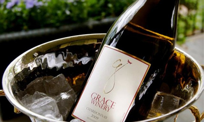 Grace Winery - Glen Mills: Winery Tour and Tasting for Up to 4, 6, or 10 at Grace Winery in Glen Mills (Up to 66% Off)