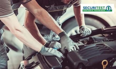 Contrôle technique pour véhicule particulier, essence ou diesel à 59,90 € au centre de contrôle Securitest Obernai