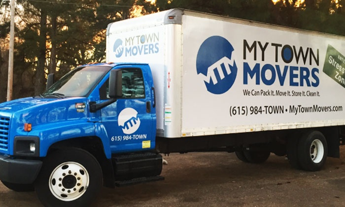 My Town Movers - Nashville: Moving and Packing Services from My Town Movers (Up to 63% Off). Three Options Available.