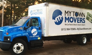 My Town Movers: Moving and Packing Services from My Town Movers (Up to 63% Off). Three Options Available.