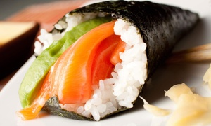 Sushi And Japanese Cuisine At Sapoten Sushi Bar (up To 50% Off). Two Options Available