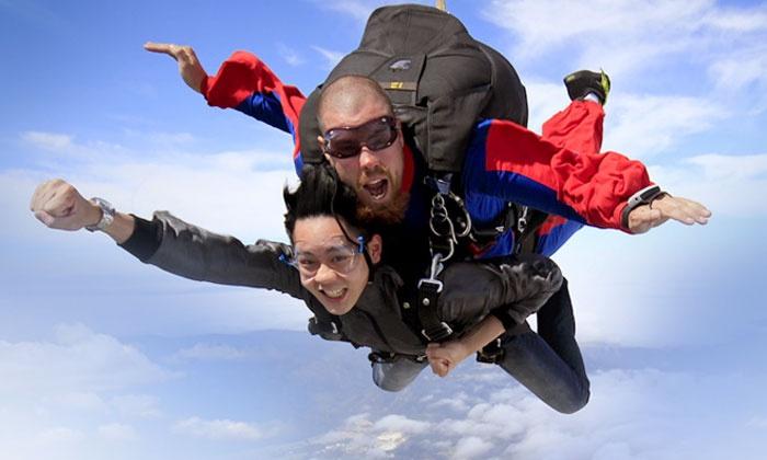 Skydive Holister - Skydive Hollister: Tandem Skydive from 10,000 Feet for One or Two from Skydive Hollister (Up to 44% Off)