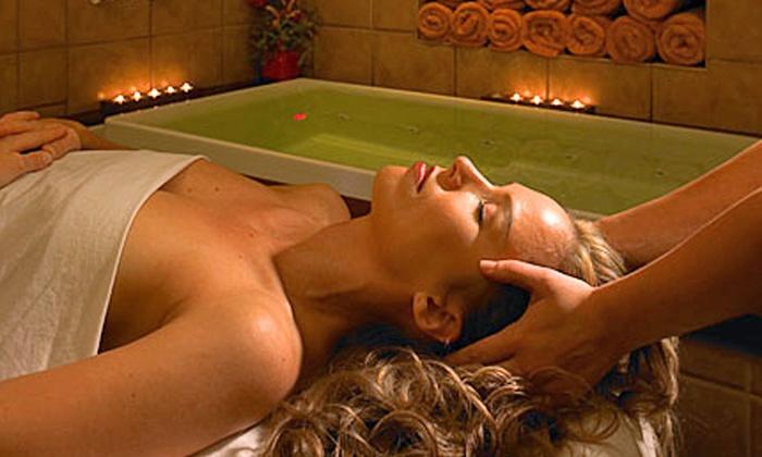 Pierre & Carlo European Salon & Spa - Wyncote: Massage, Facial, or Both, or a Mani-Pedi with a Foot Wrap at Pierre & Carlo European Salon & Spa (Up to 54% Off)