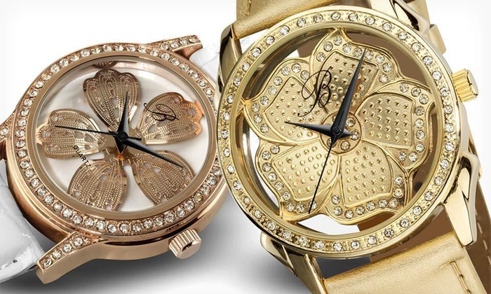 Burgi Women's Watches: Burgi Women's Watches (Up to 94% Off). 13 Options Available. Free Shipping and Free Returns.