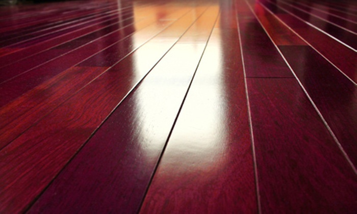 Hardwood Floors and More - Tower Grove East: Hardwood-Floor Cleaning for Two Rooms or Carpet Cleaning for Three Rooms from Hardwood Floors and More (Up to 74% Off)