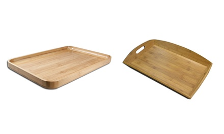 Bamboo Serving Tray Including Delivery