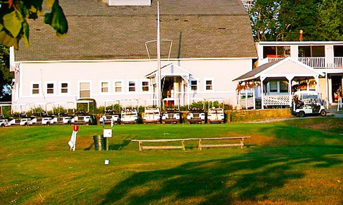 Touisset Country Club - Northeast Bristol: Nine-Hole Round of Golf for Two or Four (Up to 51% Off)