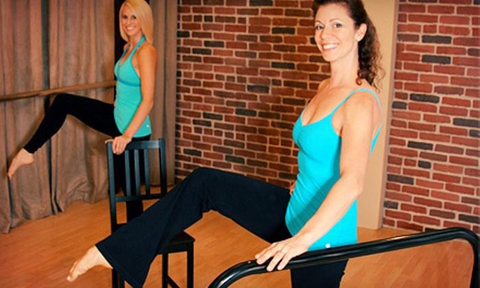 En Pointe Dance & Fitness - Eastside: 5 or 10 Barre Fitness Classes at En Pointe Dance & Fitness (Up to 78% Off)