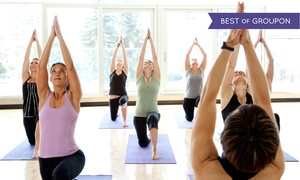 Bikram Yoga Westheimer: 5 or 10 Yoga Classes or One Month of Unlimited Yoga Classes at Bikram Yoga Westheimer (Up to 61% Off)
