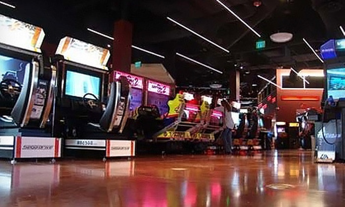 World Sports Grille - Federated Stores: $19 for All-Day Video-Game Play at World Sports Grille ($40 Value)
