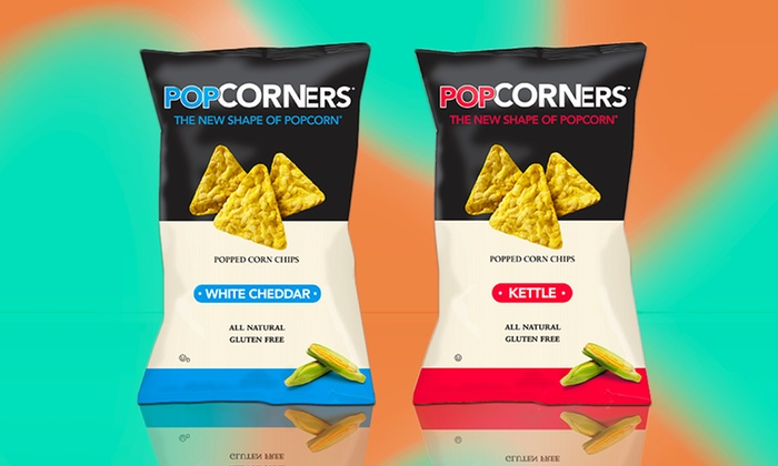 40-Pack of PopCorners Popped Corn Chips: $24.99 for a 40-Pack of PopCorners ($31.60 List Price). Multiple Flavors Available. Free Shipping.