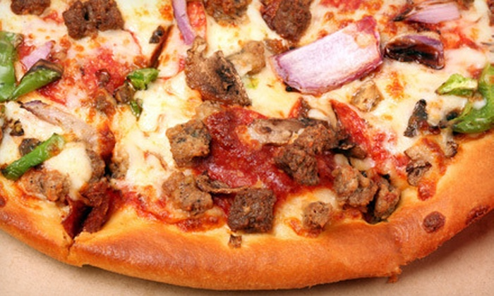 Alpac Market & Pizza - Pacific: Pizza Meal for Two or Four, or $10 for $20 Worth of Pizzeria Cuisine at Alpac Market & Pizza