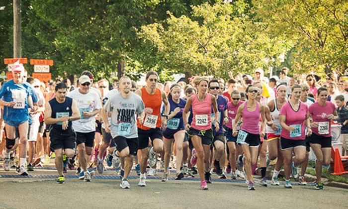 Susan G. Komen Northeast Ohio Race for the Cure - Multiple Locations: Race Entry from Northeast Ohio Affiliate of Susan G. Komen for the Cure (Up to 60% Off). Three Options Available.