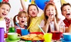 nyc pARTy kids - Multiple Locations: 90-Minute Kids' Theme Party with Take-Home Gifts and Optional Face Painting at nyc pARTy kids (Up to 54% Off)