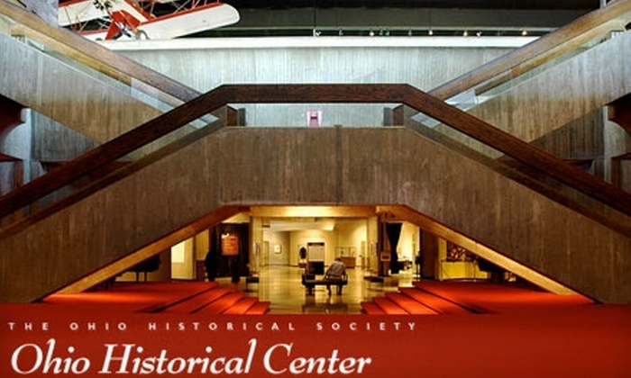 Ohio Historical Society - Fairgrounds: $8 for Two Adult Admissions to the Ohio Historical Center (Up to $16 Value)