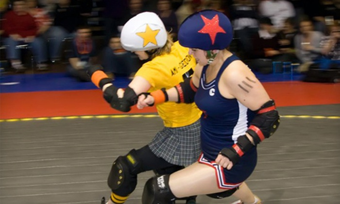 Kansas City Roller Warriors - Central Business District - Downtown: $13 for Two General-Admission Tickets to the Kansas City Roller Warriors Roller Derby (Up to a $32 Value)