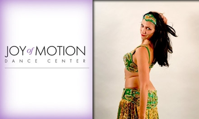 Joy of Motion Dance Center - AU Park - Friendship Heights - Tenley: $90 for a 12-Week Belly Dance Class at Joy of Motion Dance Center ($180 Value)