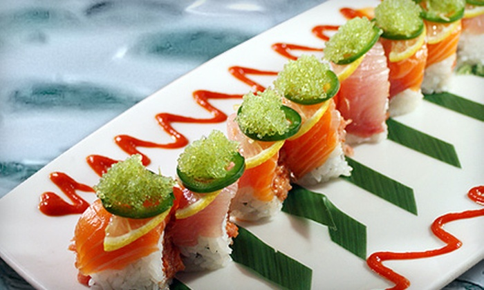 Naan Sushi Japanese Restaurant - Uptown: $25 for $50 Worth of Japanese Cuisine at Naan Sushi Japanese Restaurant