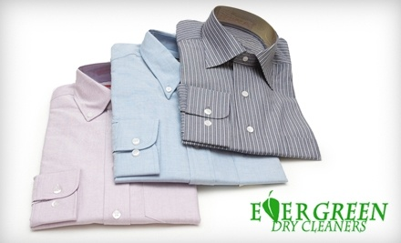 $20 Groupon to Evergreen Dry Cleaners - Evergreen Dry Cleaners in Brecksville