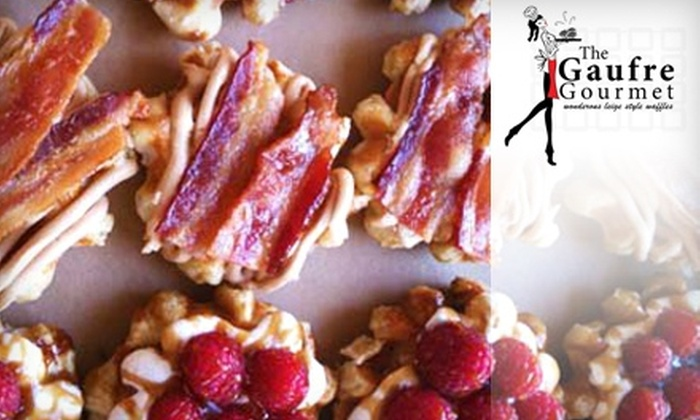 The Gaufre Gourmet - Kerns: $6 for $12 Worth of Waffles and Warm Drinks at The Gaufre Gourmet