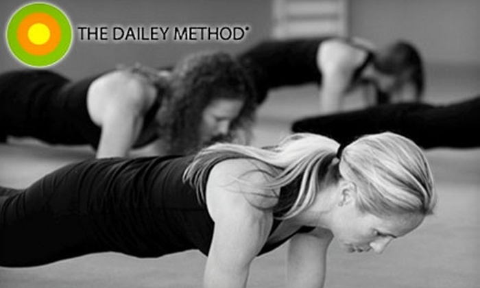 The Dailey Method - Lead Hill: $15 for Two Classes at The Dailey Method in Roseville ($36 Value)