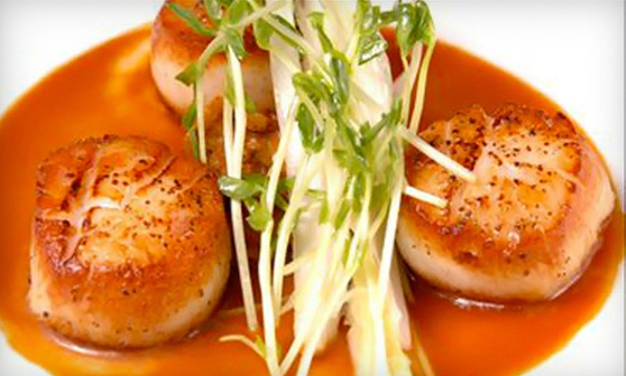 Mantra - Downtown: Upscale French-Indian Fusion Cuisine at Mantra (Up to 55% Off). Two Options Available.