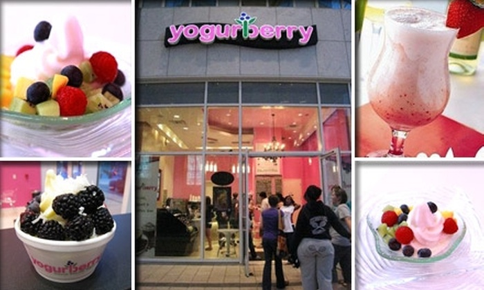 Yogurberry - Peachtree Heights East: $5 for $10 Worth of Frozen Yogurt at Yogurberry