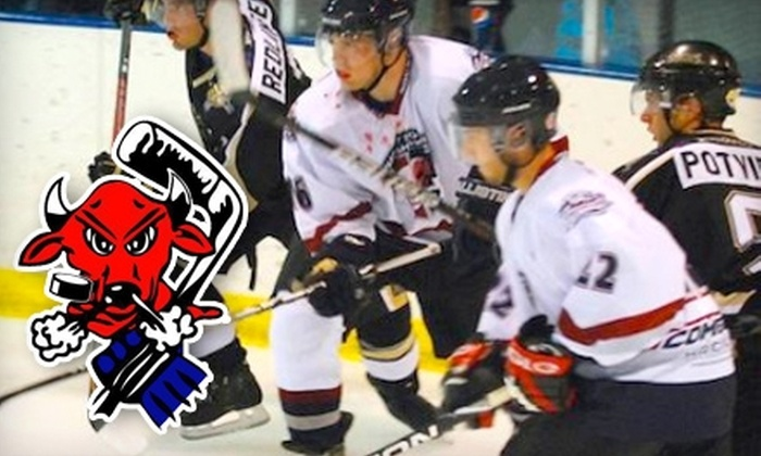 $5 for One Adult Ticket to a Billings Bulls Junior Hockey Game ($10 Value)