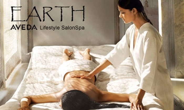Earth Salon and Spa - Carlsbad: $89 for Massage, Facial, and Makeup Application at Earth Salon and Spa in Carlsbad