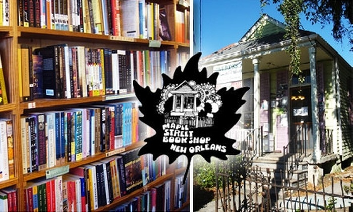 Maple Street Book Shops - Multiple Locations: $10 for $20 Worth of Books at Maple Street Book Shops