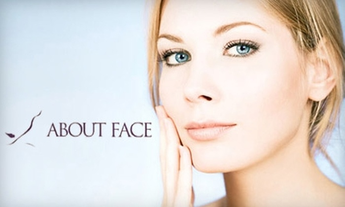 About Face Cosmetic Therapy Center - The Gables: Facial Treatments at About Face Cosmetic Therapy Center. Choose from Four Options.