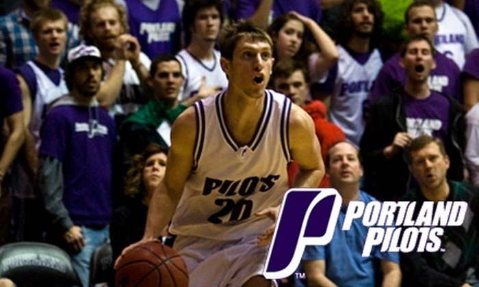 University of Portland Basketball - University Park: $32 for Two Tickets to a University of Portland Men's Basketball Game vs. Saint Mary's, Plus 10 Flex Tickets for Men's or Women's Basketball Games