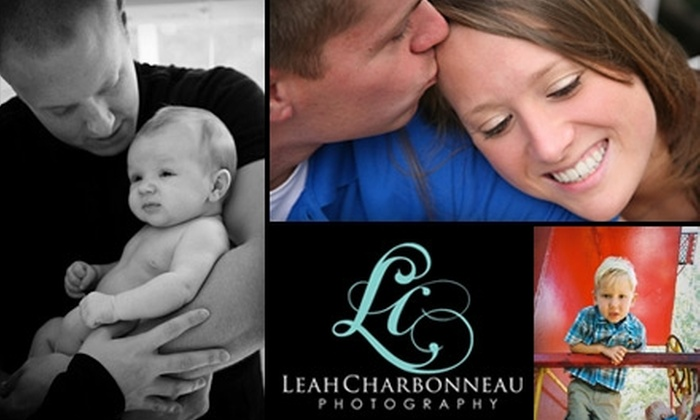 Leah Charbonneau Photography - Raleigh / Durham: $49 for a One-Hour Photo Session and 10-Photo Disc at Leah Charbonneau Photography ($150 Value)