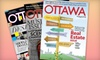 "St. Joseph Media - Centretown - Downtown: $15 for a One-Year Subscription to ""Ottawa Magazine"" ($30.51 Value)"