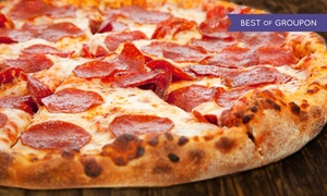Home Style Pizza: $12 for $20 Worth of Brick-Oven Pizza and Sicilian Fare at Home Style Pizza